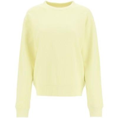 DRIES VAN NOTEN/ドリス ヴァン ノッテン Yellow Dries van noten heros crew neck sweatshirt レディース 春夏2021 HEROS 2629 ik