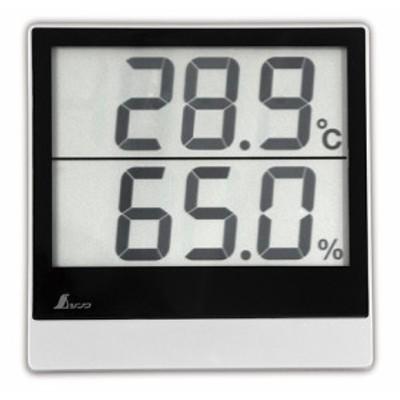ネコポス可 シンワ デジタル温湿度計 Smart A 73115 サイズ103x102x18mm 質量135g 測定範囲 温度-5~49℃ 湿度30~95% 測定間隔20秒