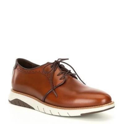 ジョンストンアンドマーフィー メンズ ドレスシューズ シューズ Collection Men's Vaughn Plain Toe Oxfords Cognac
