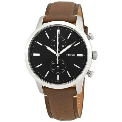 腕時計 フォッシル メンズ Black Fossil Townsman Chronograph Men's Watch - Choose color