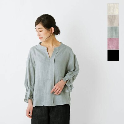 kelen ケレン ソフトラミーデザインスリーブシャツ Dear Linen lkl21hbl3 2021ss新作