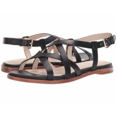 Cole Haan コールハーン レディース 女性用 シューズ 靴 サンダル Analeigh Grand Strappy Sandal Black Leather【送料無料】
