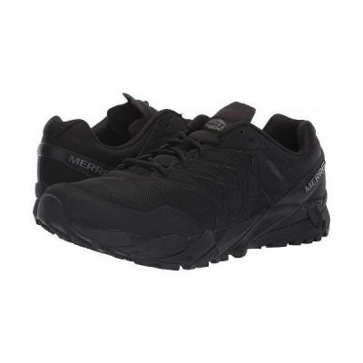 Merrell Work メンズ 男性用 シューズ 靴 スニーカー 運動靴 Agility Peak Tactical - Black