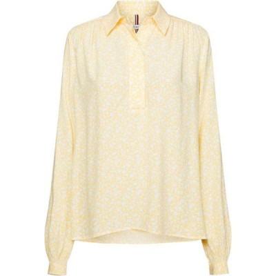 トミー ヒルフィガー Tommy Hilfiger レディース ブラウス・シャツ トップス danee half placket blouse POSY PRT/SUNRAY