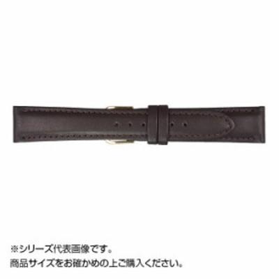 MIMOSA(ミモザ) 時計バンド EMカーフ 18mm ダークブラウン (美錠:銀) CEM-B18 バンド