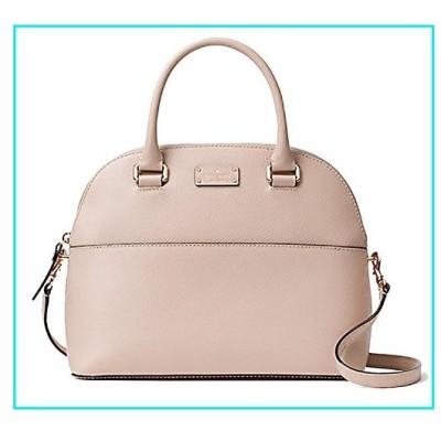 Kate Spade Grove Street Carli Leather Crossbody Bag Purse Satchel Shoulder Bag (Almondine)【並行輸入品】