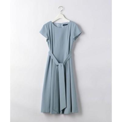 ドレス D CLAN バラッシャ フレンチ フィット & フレア ワンピース