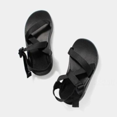 チャコ Chaco メンズ Z1 クラシック WIDE WIDTH ストラップ スポーツサンダル 全2サイズ BLACK J105375W