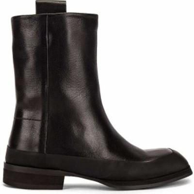 ザ ロウ The Row レディース ブーツ シューズ・靴 Grunge Leather Boots Black