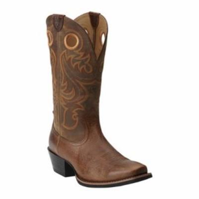アリアト レインシューズ・長靴 Sport Square Toe Fiddle Brown/Powder Brown Full Grain Leather