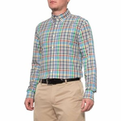 ボビージョーンズ Bobby Jones メンズ トップス Ivory Royal Plaid Shirt - Long Sleeve Ivory