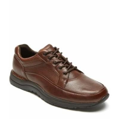 ロックポート メンズ スニーカー シューズ Men's Leather Edge Hill Chukka Sneaker Brown