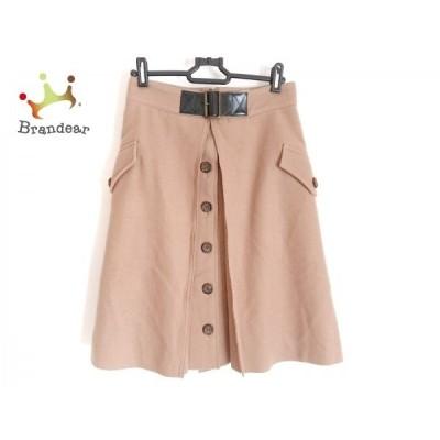 ラウラ Laula スカート サイズ1 S レディース ブラウン×ダークブラウン       スペシャル特価 20200620