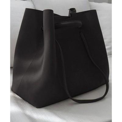 トートバッグ バッグ 【軽量】ベーシックカラー大きめ肩掛け2WAYトートバッグ