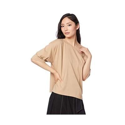 フリーズマート カットソー ワンショルダールーズTシャツ レディース ベージュ 日本 FR (FREE サイズ)