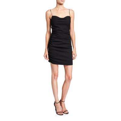 サンク ア セプト レディース ワンピース トップス Winnie Ruched Mini Cocktail Dress