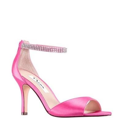 ニナ レディース サンダル シューズ Volanda Satin and Rhinestone Dress Sandals