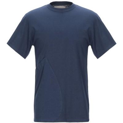 CORELATE T シャツ ダークブルー S コットン 100% T シャツ