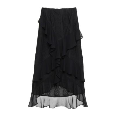 KEEPSAKE ひざ丈スカート ブラック XS ナイロン 85% / レーヨン 15% / ポリエステル ひざ丈スカート