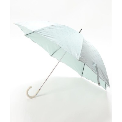 MOONBAT / 晴雨兼用日傘 ジャガード ワンポイント刺繍 WOMEN ファッション雑貨 > 長傘