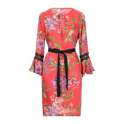 リュー ジョー LIU •JO ミニワンピース&ドレス レッド 38 ポリエステル 100% / ナイロン ミニワンピース&ドレス