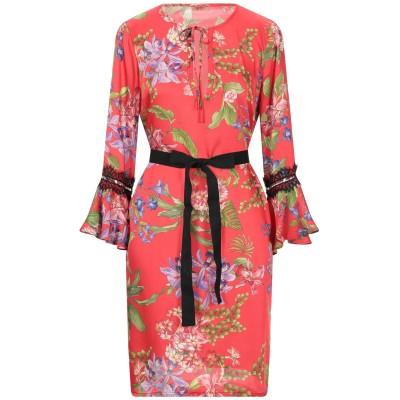 リュー ジョー LIU •JO ミニワンピース&ドレス レッド 46 ポリエステル 100% / ナイロン ミニワンピース&ドレス