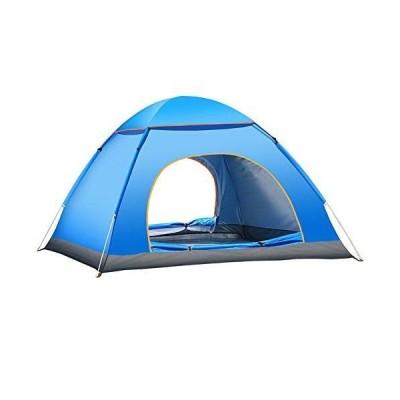テント クレセント3-4人用 テント アウトドア 軽量 設計 防風防水 設営簡単 通気 防災用 キャンプ 登山 海 開放テント 収納バッグ付