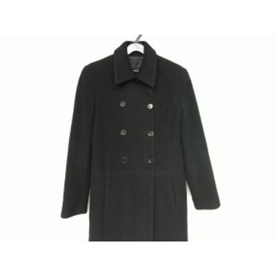 アンタイトル UNTITLED コート サイズ9 M レディース 黒 ダブル/冬物【中古】20200702