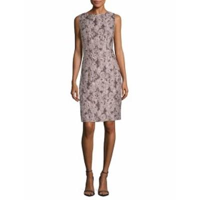ラファイエット148ニューヨーク レディース ワンピース Verona Jacquard Silk-Blend Sheath Dress