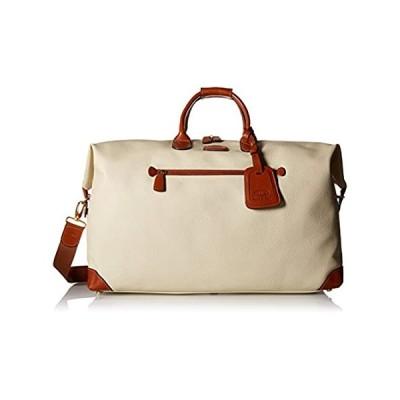 "Bric's USA Luggage Model: FIRENZE  Size: 22"" cargo duffle   Color: CREAM"
