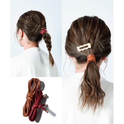 CALIFORNIA OUTFITTERS / 【LULKA(ルールカ)】2本セット 豊富なラインナップから選べる ぐるぐるヘアワイヤー WOMEN ヘアアクセサリー > ヘアゴム