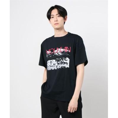 BEAVER / MOUNTAIN SMITH/マウンテンスミス RED ROCKS Tシャツ MEN トップス > Tシャツ/カットソー