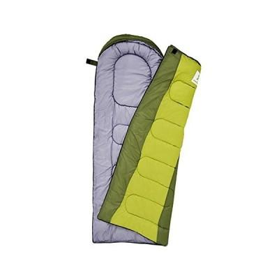 寝袋 キャンプ 大人,封筒型 4 シーズン 防水 綿 スリーピングバッグ 収納袋付き アウトドア 登山 車中泊