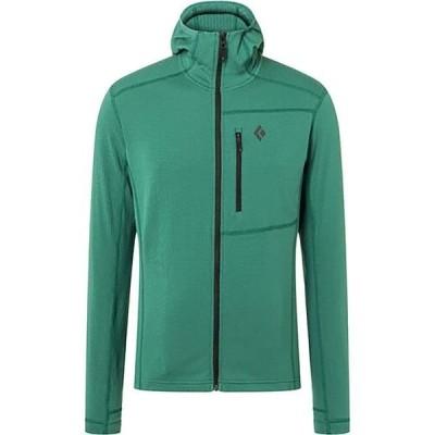 ブラックダイヤモンド メンズ ジャケット・ブルゾン アウター CoEfficient Fleece Hooded Jacket