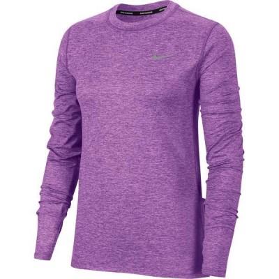 ナイキ レディース シャツ トップス Nike Women's Element Crew Long Sleeve Running Shirt