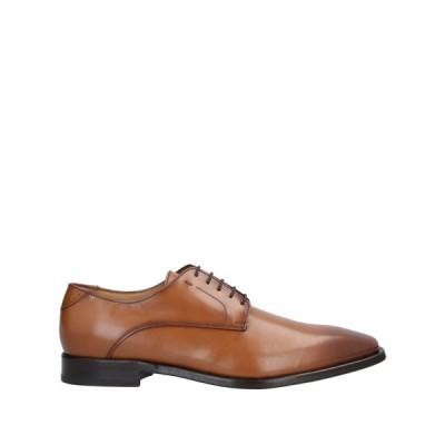 アントニオマウリッツィ ANTONIO MAURIZI メンズ シューズ・靴 laced shoes Camel