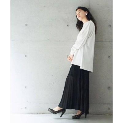 14G RAME マキシプリーツスカート