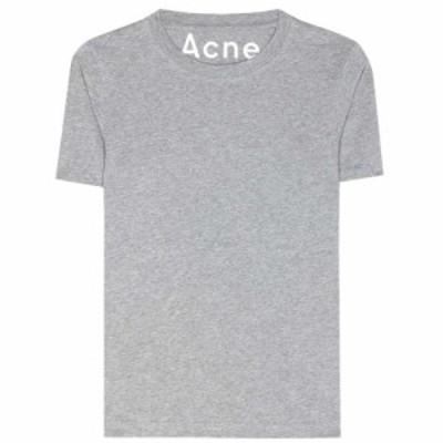 アクネ ストゥディオズ Acne Studios レディース Tシャツ 2点セット トップス Dorla 2-Pack cotton T-shirts Grey Melange