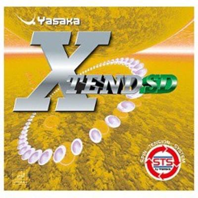 ヤサカ YASAKA エクステンドSD 卓球ラバー [カラー:レッド] [サイズ:厚] #B-46 スポーツ・アウトドア