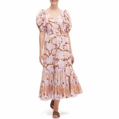 ケイト スペード Kate Spade New York レディース ワンピース ワンピース・ドレス Exotic Bloom Poplin Dress Hot Cider