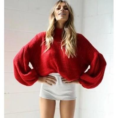 二着送料無料!セーター ニット  トップス ニット ファッション カジュアル レディース 防寒 秋冬  セーター 編み糸 トップス 着