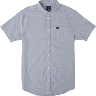 ルーカ メンズ シャツ トップス That'll Do Stretch Short-Sleeve Shirt - Men's Distant Blue