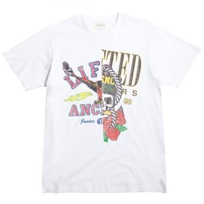 リフテッド アンカーズ Lifted Anchors メンズ Tシャツ トップス Battle Tee white