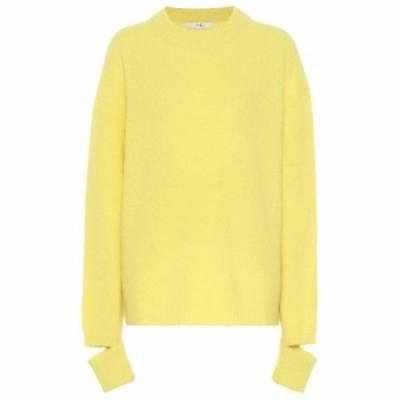 ティビ Tibi レディース ニット・セーター トップス Alpaca-blend sweater acid yellow