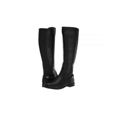 Anne Klein アン クライン レディース 女性用 シューズ 靴 ブーツ ロングブーツ Basia - Black