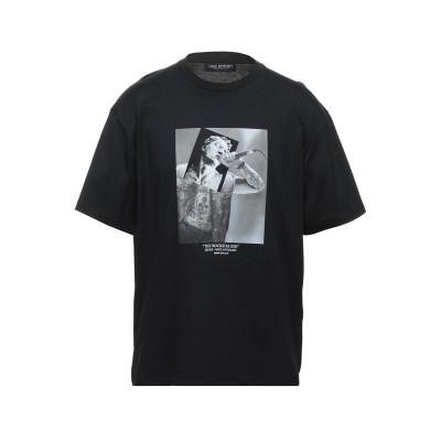 ニール・バレット NEIL BARRETT T シャツ ブラック XXL コットン 100% T シャツ