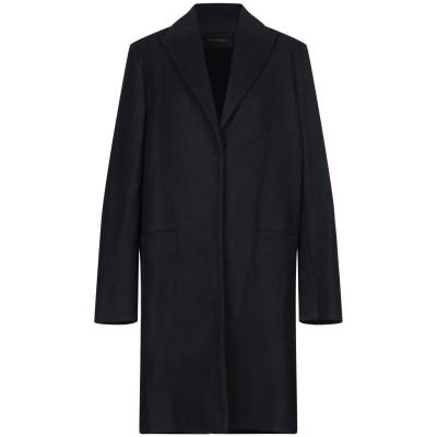 セドリック シャルリエ CEDRIC CHARLIER コート ダークブルー 40 ウール 75% / ナイロン 25% コート