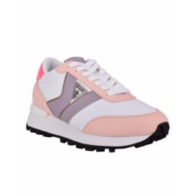 ゲス レディース スニーカー シューズ Women's Samsin Sneakers Pink Multi Textile Faux Leather