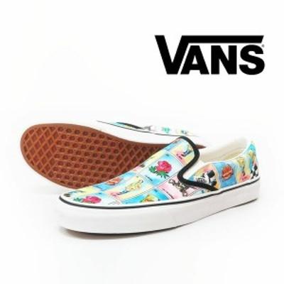 VANS バンズ CLASSIC SLIP-ON LOS VANS スニーカー シューズ ヴァンズ  vn-0a4u38wn1
