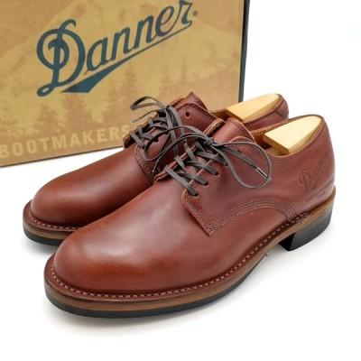 送料無料 ダナー DANNER ビジネスシューズ 靴 シューズ オックスフォードシューズ D1856 マナワ MANAWA レザー 7 26cm相当 赤茶系 メンズ